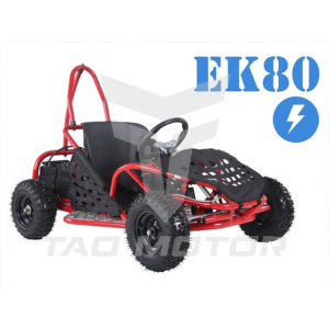 EK80 Electric Go Cart Red Tao Motor