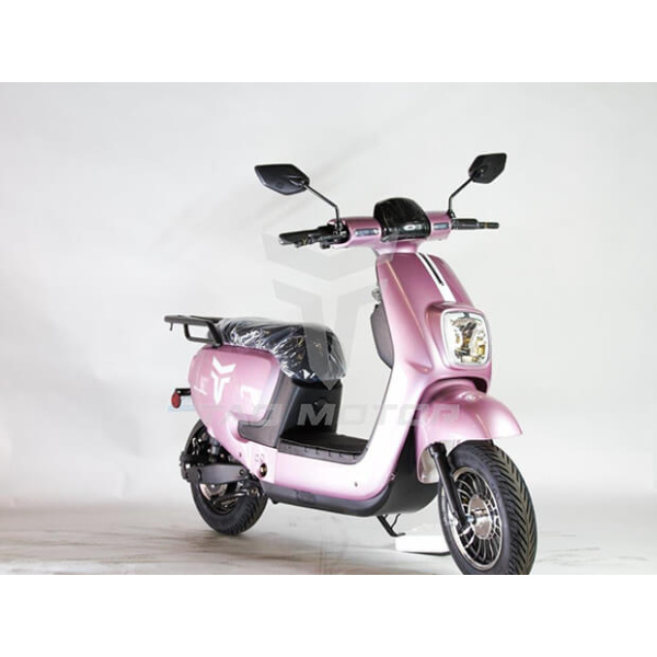 Virgo 606 E Scooter Pink Front