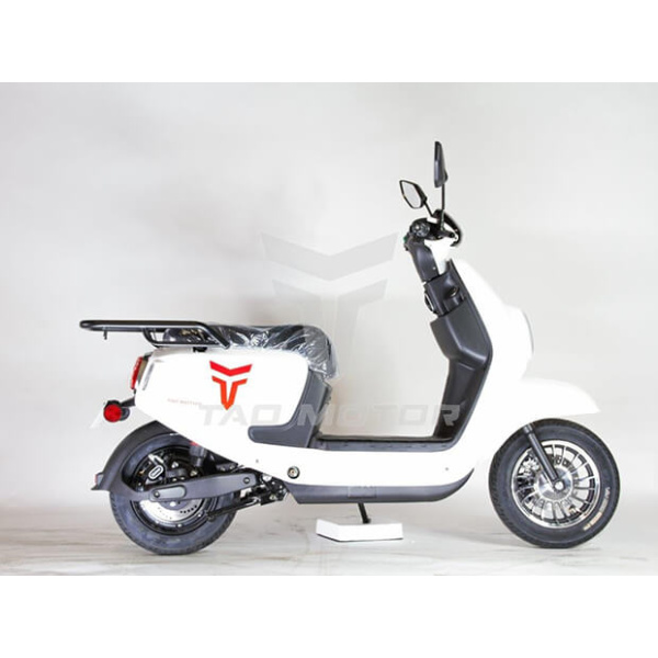 Virgo 606 E Scooter White Side